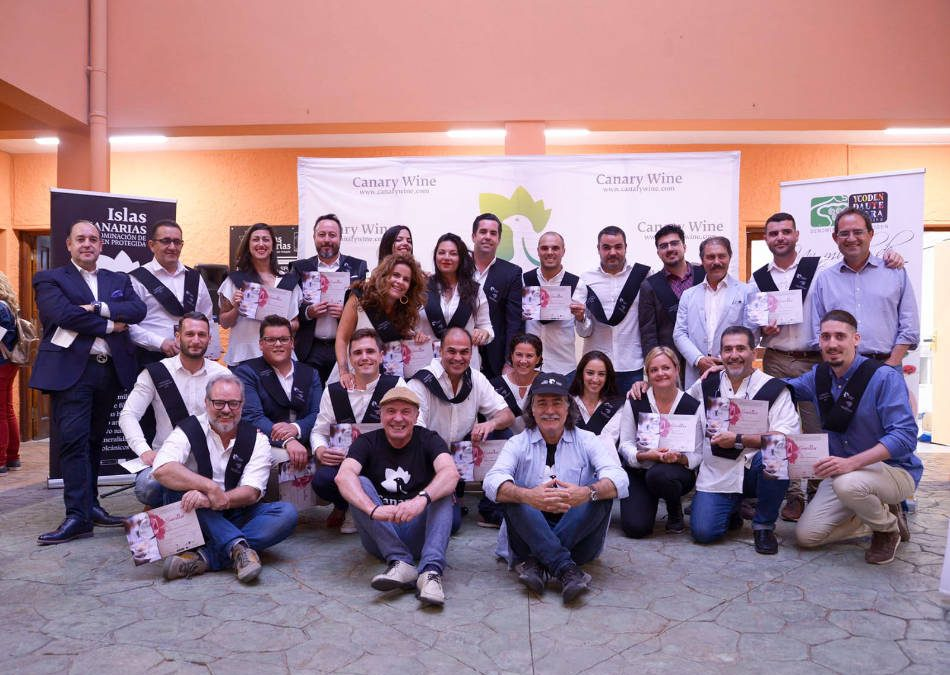 The 2nd Promotion of the Sommelier Course of the Campus Canario del Vino ended